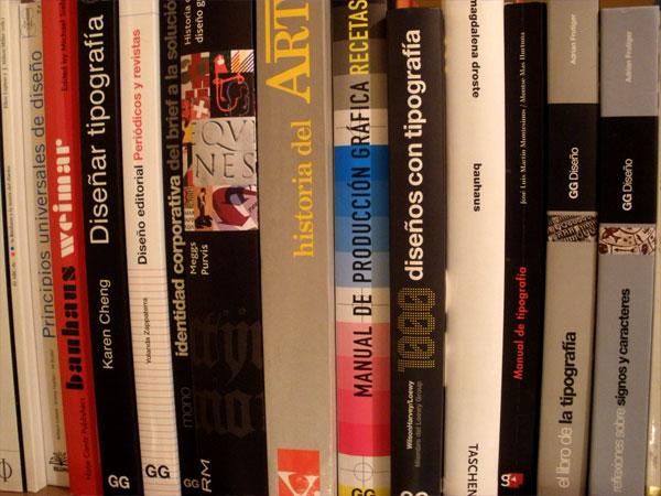 """Nueva sección """"Libros""""."""